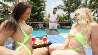 Nikki Sweet and Alessia Luna in Do Us A Favor and have sex
